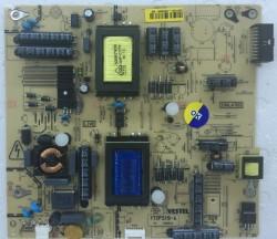 VESTEL - 17IPS19-4 V1 , 23077843 ,Vestel , 40 , 40PF7014 40 LED TV , VES400UDES-02-B , Power Board , Besleme Kartı , PSU