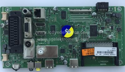 17MB95M , 23245347 , VESTEL , DIJ , NEXON , 50NX600 50 , SMART LED TV , Main Board , Ana Kart