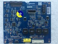 LG - 6917L-0046D , PPW-LE37V6-O (D) REV1.0 , LG , Led Driver Board , Led Sürücü Kartı