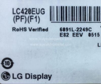 LG , LC420EUG PF F1 , LC420EUG PE F2 , LC420EUF FE P1 , LC420EUH PF F1 , 42LM660S , 42LA660S , 42LM640S , 42PF8231 , PHILIPS , 42PFL6097 , 42PFL6008 , 6922L-0072A , 6920L-0001C , 2 ADET LED ÇUBUK